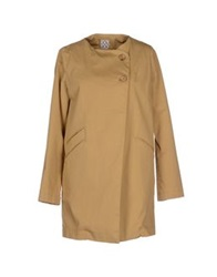 Douuod Full Length Jackets Khaki