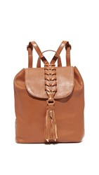 Foley Corinna La Trenza Backpack Honey Brown