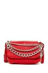 Carlos By Carlos Santana Katrina Flap Chain Crossbody Red