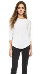 Bop Basics Darcy Silk Blend Sweater Egg Shell