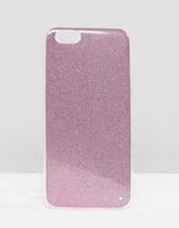 Signature Glitter Iphone 6 Case Pink Purple