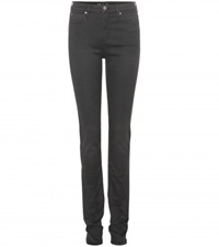 Mih Jeans Nouvelle High Rise Skinny Jeans Black