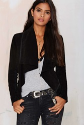 Nasty Gal Blank Nyc Wild Thang Suede Jacket