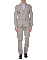 Daniele Alessandrini Suits And Jackets Suits Men Light Brown