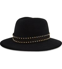 The Kooples Felt Wool Hat Black