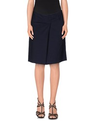 Pt0w Skirts Mini Skirts Women Dark Blue