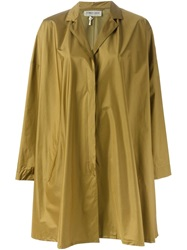 Romeo Gigli Vintage Oversized Raincoat Green