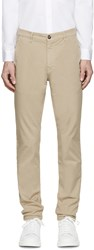 Kenzo Beige Small Tiger Classic Trousers