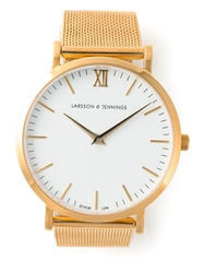 Larsson And Jennings Mesh Strap Watch Metallic