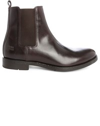 National Standard Brown Edition 14 Smooth Leather Chelsea Boots