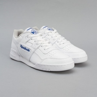 Reebok Workout Plus White Royal Oi Polloi