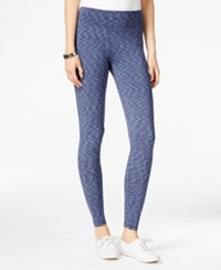 G.H. Bass And Co. Space Dyed Leggings Deep Navy Combo