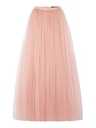 Little Mistress Full Maxi Skirt Pink