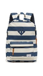 Herschel Mini Heritage Backpack Navy Navy Stripe