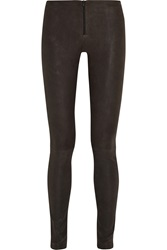 Alice Olivia Suede Leggings