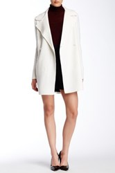 Vince Sweater Sleeve Wool Blend Peacoat White