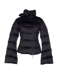 Cristinaeffe Down Jackets Dark Blue