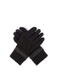 Y 3 Zipped Padded Gloves Black