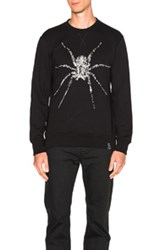 Lanvin Spider Embroidery Sweatshirt In Black