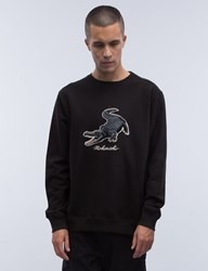 Mhi Maharishi Alligator Crewneck Sweatshirt