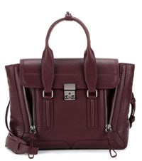 3.1 Phillip Lim Pashli Medium Leather Tote Purple