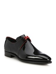 Pierre Corthay Patent Leather Dress Shoes Black