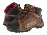 Wolverine Chisel Mid Cut Hiker Dark Brown Women's Work Boots