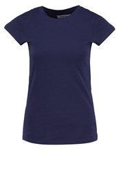 Zalando Essentials Basic Tshirt Navy Dark Blue