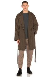 N.D.G. Studio Wool Long Coat Taupe