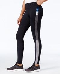 Tommy Hilfiger Athletic Leggings Only At Macy's Black Electric Blue
