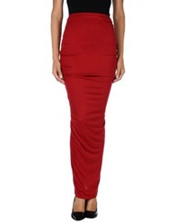 Givenchy Long Skirts Red