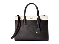 Kate Spade Cameron Street Candace Black Cement Satchel Handbags