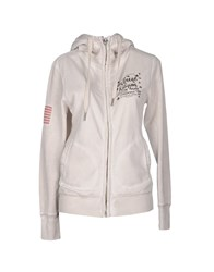 True Religion Topwear Sweatshirts Women Light Grey