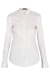 The Row Small Collar Stretch Shirt