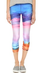 Zara Terez Utah Performance Capri Leggings Multi