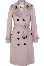 Burberry Brushed Cashmere Trench Coat