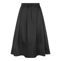 Hotsquash Silky Skirt With Clevertech Black