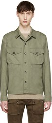 Belstaff Green Sampson Shirt Jacket