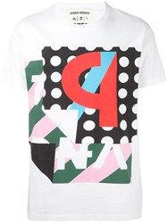 Henrik Vibskov Graphic Print T Shirt White