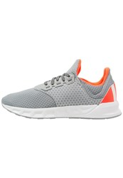 Adidas Performance Falcon Elite 5 Cushioned Running Shoes Mid Grey White Solar Red