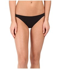 Only Hearts Club Organic Cotton Basic Thong Black Women's Underwear