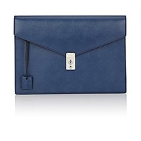 Barneys New York Men's Gusseted Portfolio Navy