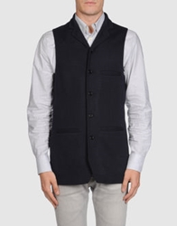 Mario Matteo Vests Dark Blue