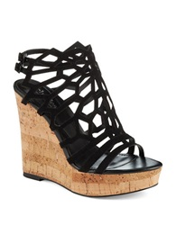 Charles By Charles David Apollo Cut Out Wedges Black