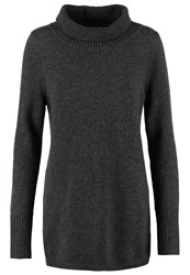 Ftc Jumper Shale Mottled Dark Grey
