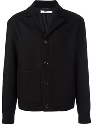 Hope Boxy Buttoned Jacket Black