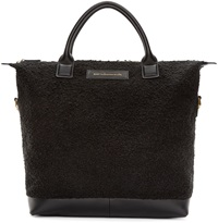 Want Les Essentiels Black Leather Mirabel Tote