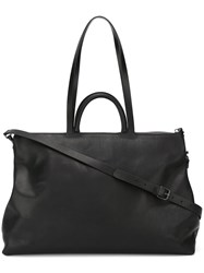 Marsell Double Straps Large Tote Black