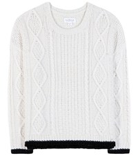 Velvet Joan Knitted Sweater White