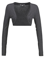Zalando Essentials Cardigan Dark Grey Mottled Dark Grey